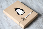 Fotogeschenkbox Pinguin
